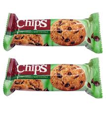 Choco chips cookies with coconut 80g