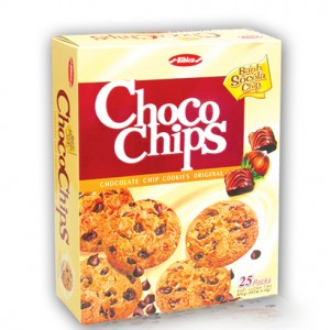Choco chips cookies Original 300g