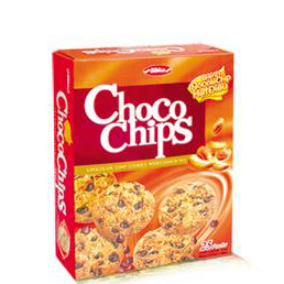 Choco chips cookies with cashew nut 300g