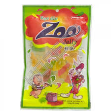 Candy Zoo not cover sugar 16g