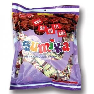 Sumika soft candy Socola milk  350g