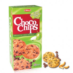 Choco chips cookies with coconut  144g