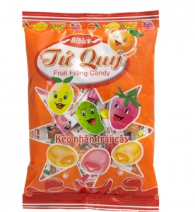 Tu Quy Fruit Filling Candy 70g