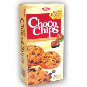 Choco chips cookies Original 144g