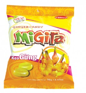 Hard Candy Migita Ginger 400g
