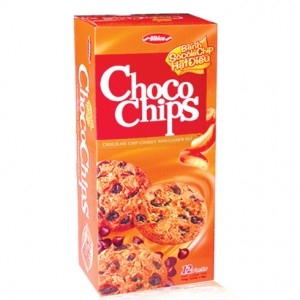 Choco chips cookies with cashew nut  144g
