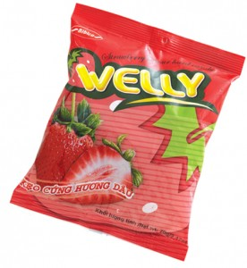 Hard Candy Welly Strawberry 90g