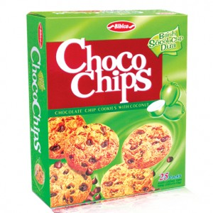 Choco chips cookies with coconut 300g