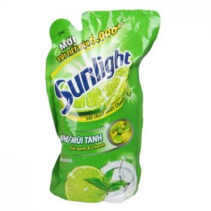 Sunlight Dishwash  Green Tea 750gr x 12 bag
