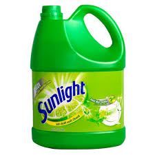 Sunlight Dishwash  Green Tea  3.8kg x 3bottle