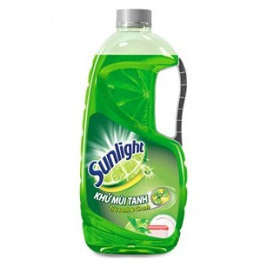 Sunlight Dishwash  Green Tea 1.5kg x 6bottle