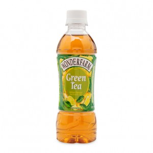Wonderfarm Green tea with lemon flavour 345 ml