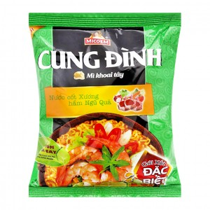 CUNG DINH hot & Sour Prawn Hot Pot Flavour Instant Noodle 80g