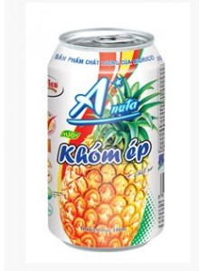 Bidrico Softdrink Pineapple 330ml