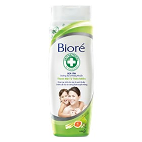 Biore Skin Care shower gel and antibacterial natural cool 250g