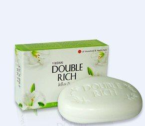 Double Rich Soap White Purity 90g