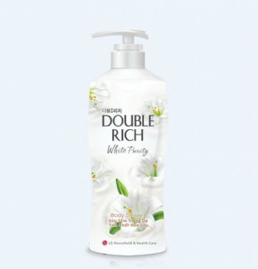 Double Rich White Purity Body Shower 550g