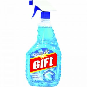 Gift Spray Glass Color Sea 580ml