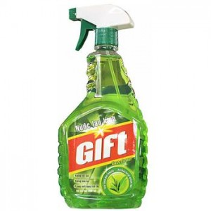 Gift Spray Glass Green Tea 580ml