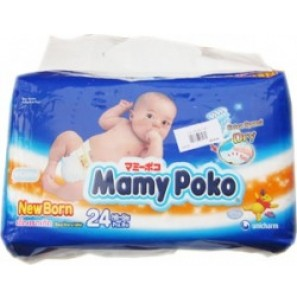 MamyPoko Diaper Newborn 24 – 24pcs/bag (<5kg)