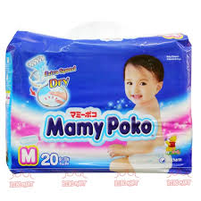 MamyPoko Diaper M20 – 20pcs/bag (6-11kg)