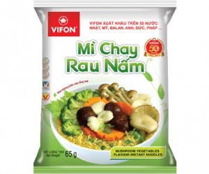 Vegetarian noodles with vegetable and mushroom 65g