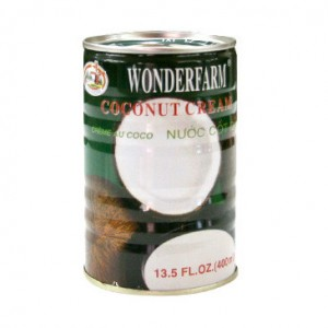 Wonderfarm Coconut Cream 400ml