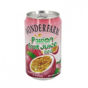 WONDERFARM Canned Pasionfruit Drink 310ml