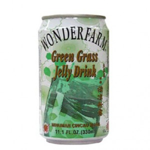 WONDERFARM Canned Green Grass Jelly Drink 310ml