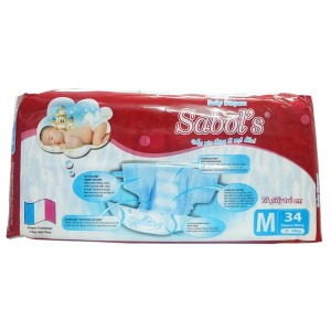 Sabol's Baby Diapers M34