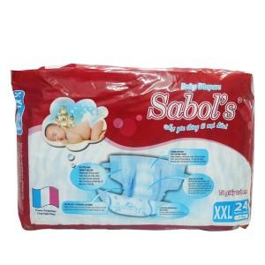 Sabol's Baby Diapers XXL24