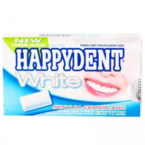 HAPPYDENT wrap sugar  Fresh White Smile  15bpack/box