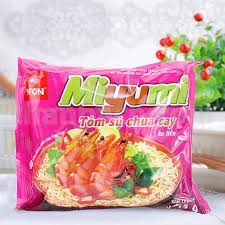 Miyumi noodles with tart prawn 65g