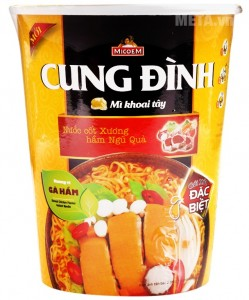 CUNG DINH Stewed chicken Flavour instant noodle 65g – Cup