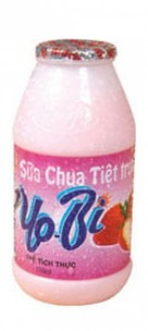 YoBi Sterilized drinking yoghurt Strawberry Flavour 110ml