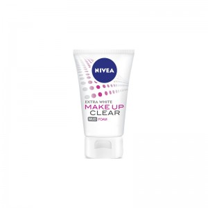 Nivea Extra white Make up Clear Mud Foam 100g