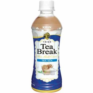 Pet Tea Break Milk 350ml