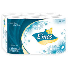 Toilet-paper E'mos Classic 2-layer paper x 12