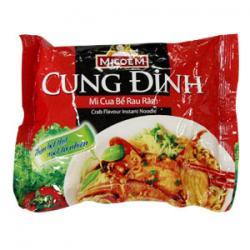 CUNG DINH Crab Flavour instant noodle 80g – bag