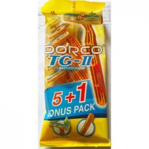 Razor  Dorco TG – II Plus 2P  (2pcs/ pack, 20pack/box, 18box/case)