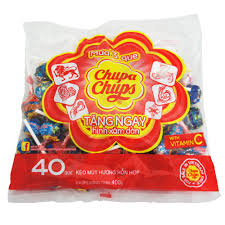Chupa chups 40 Stick 480g  – 22 bag/carton