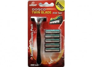 Razor Dorco Twin Blade 6 Top Blades (10pack/box, 6box/case)