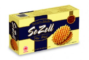 SOZOLL egg & milk cookies with cheese 250 gram