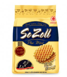 SOZOLL egg & milk cookies with cheese, 220 gram
