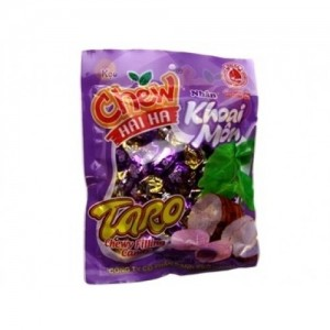 Chew filling candy  Taro chewy filling candy 29pcs/ pack – 125g