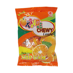 Soft candy  Orange chewy candy 85g