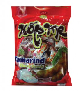 Soft candy Tamarind chewy candy 85g