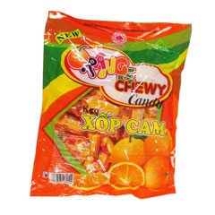 Soft candy Orange soft fruit candy 350g
