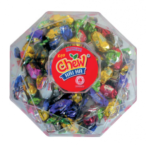 Gift Palstic Box candy Chew filling candy 275g