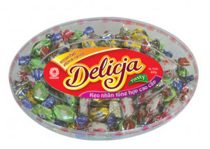 Hard filling candy 400g